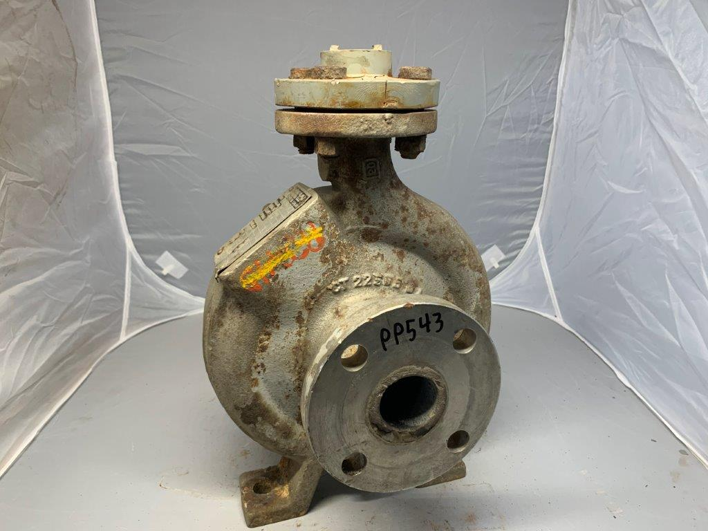 Durco Mark II Pump Casing 1.5x1-6/34 Material: D20 Pattern#: CT2