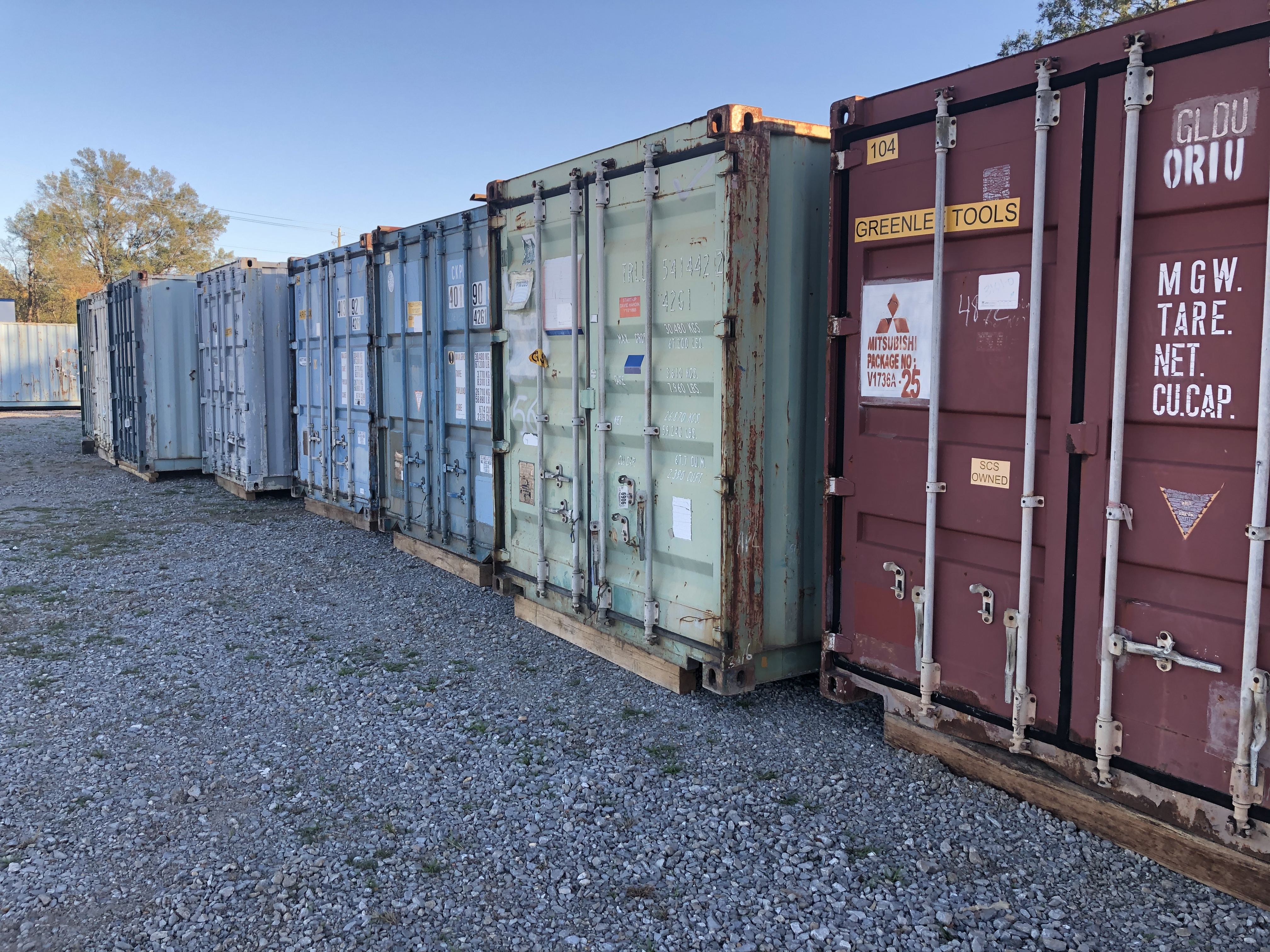 40' Conex Shipping Container