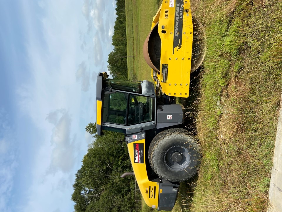 2017 DYNAPAC CA2500D Compaction Equipment