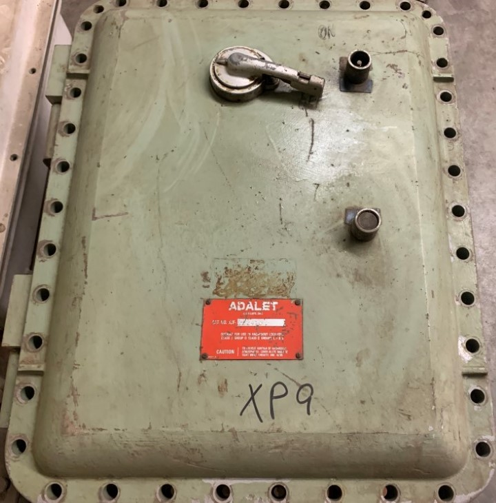 Adalet Explosion Proof Starter XJF-182410 with Westinghouse 1F08