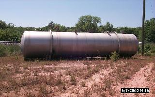 Aluminum 13,000 gallon Horizontal Tank