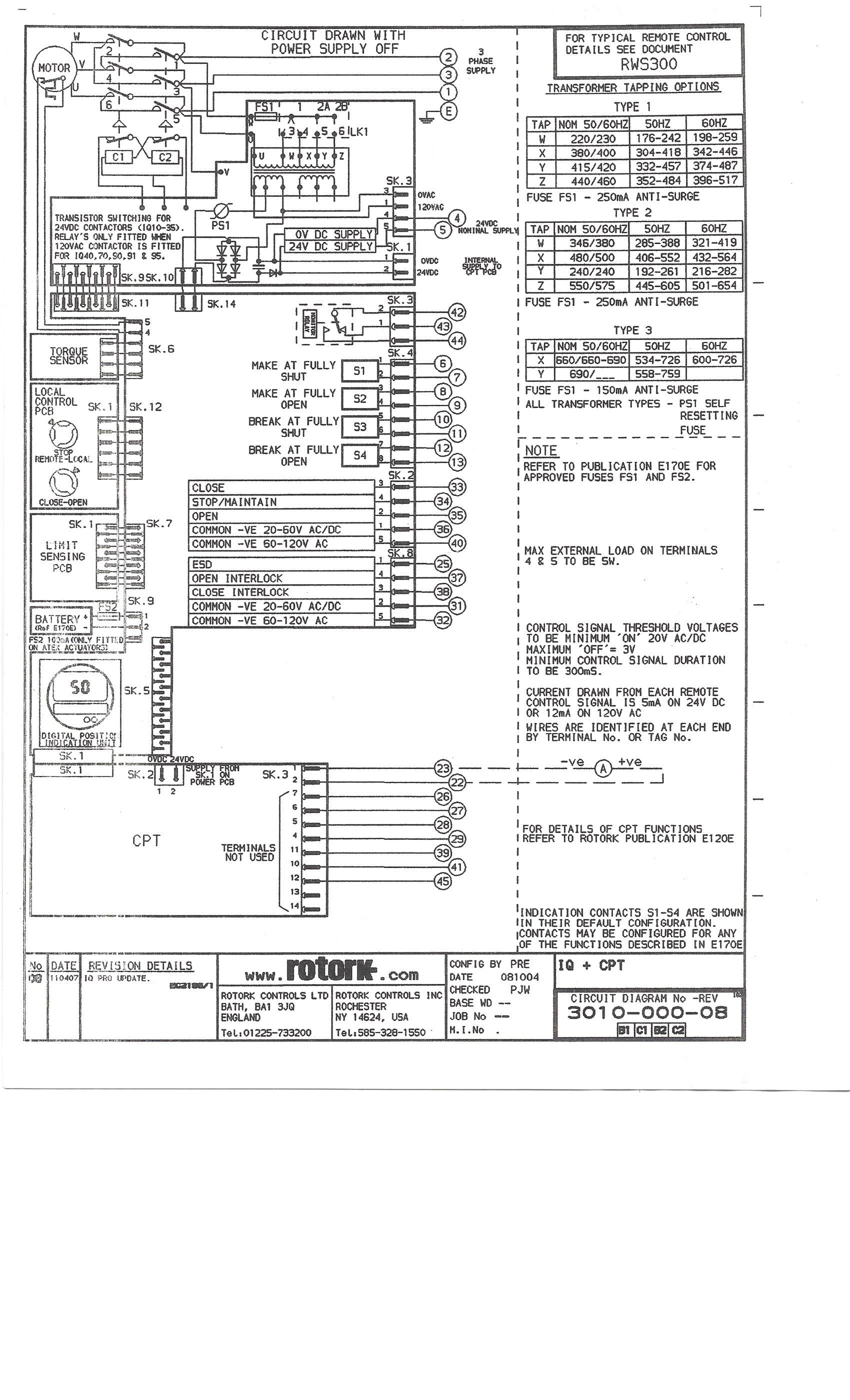mov wiring diagram wiring diagrams schematics rh myomedia co rotork wiring diagram 2240 rotork wiring diagram 6000