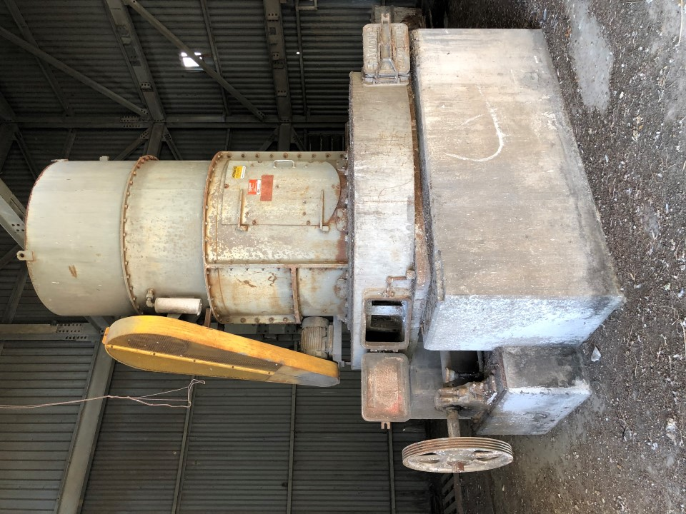 "Raymond 5047 Low Side Roller Mill  with 4'-8"" Double Whizzer Sep"