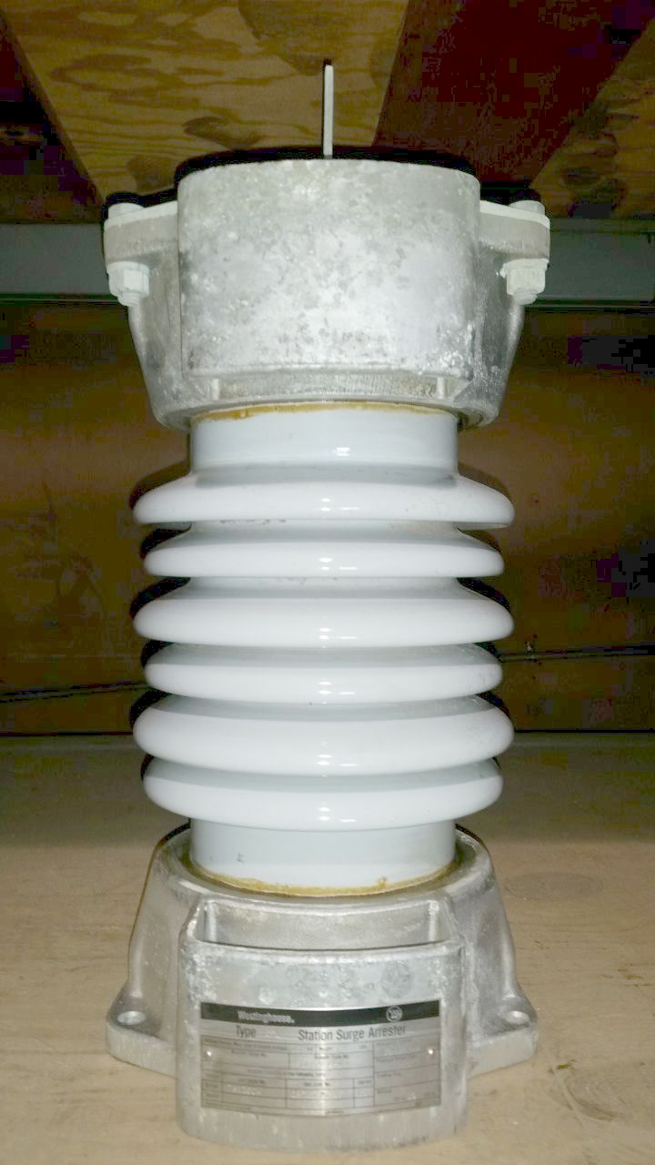 Westinghouse Station Surge Arrester Type CPL