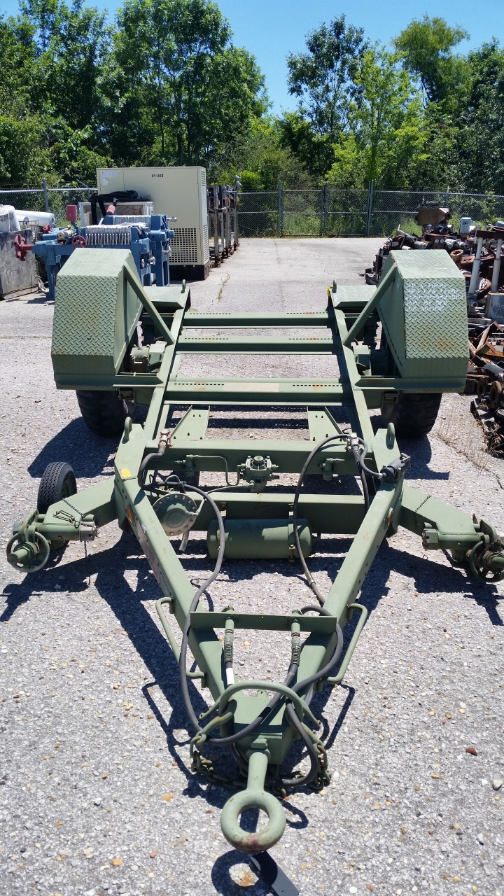 Johnson M353 Generator Trailer Transamerican Equipment