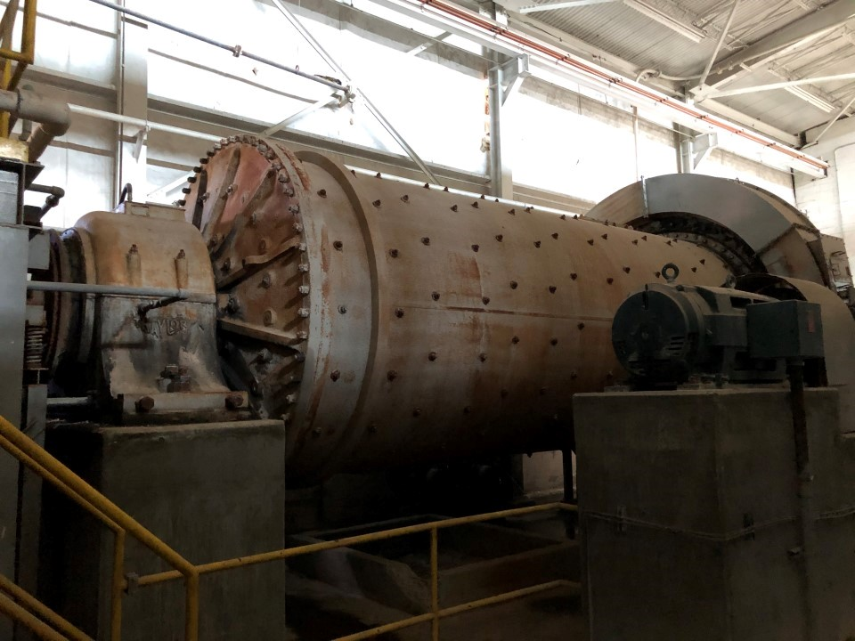"Fuller Traylor 9' x 21'-8.5"" Ball Mill"