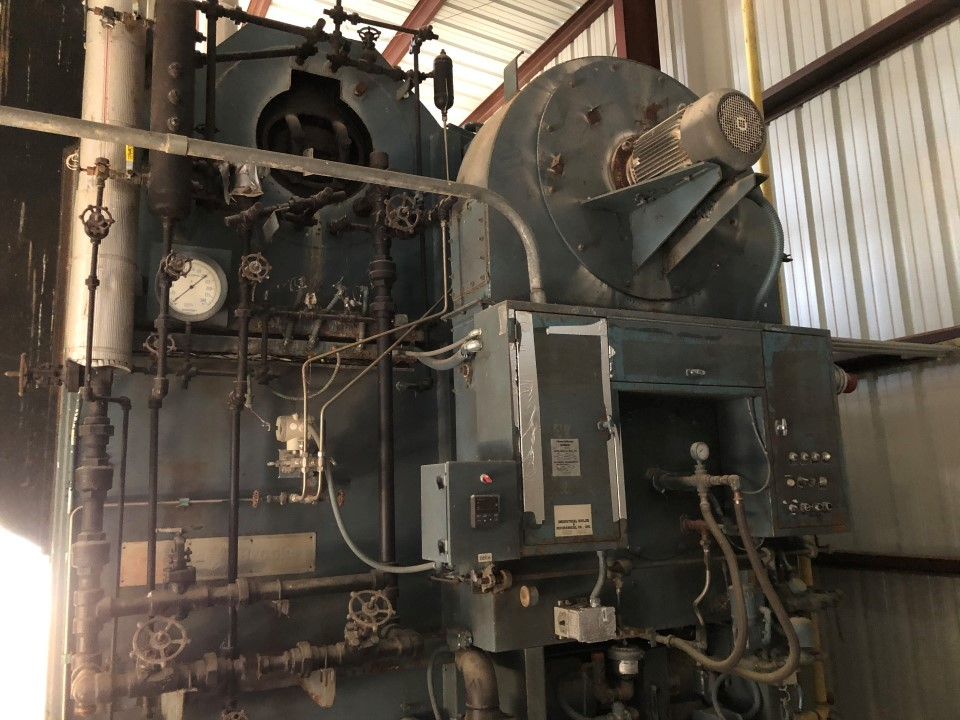 Cleaver Brooks D-52-RH 500hp, 260 psi Watertube Boiler