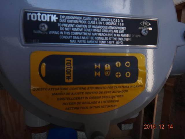 Velan 16 U0026quot  600   Wc6  Bwe  Gate Valve With Rotork Actuator