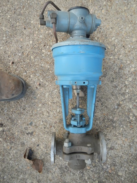 "Hammel Dahl 1"" 150 Rating, 316 Stainless Flanged Control Valve"