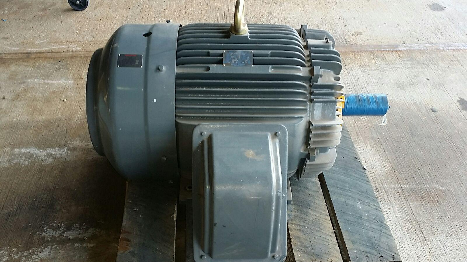 TECO Westinghouse 125 hp, 1775 rpm, 444T frame motor