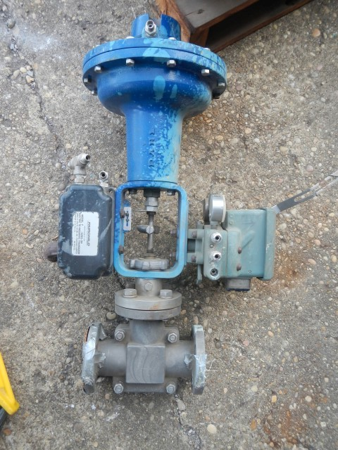 "Hammel Dahl 1"" 150 Rating, Stainless Flanged Control Valve"