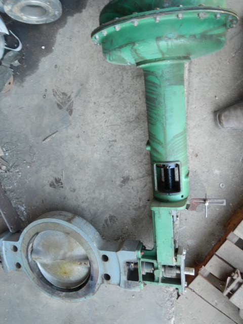 "Fisher 12"" 150 Class, Cast Iron Butterfly Gate Valve"