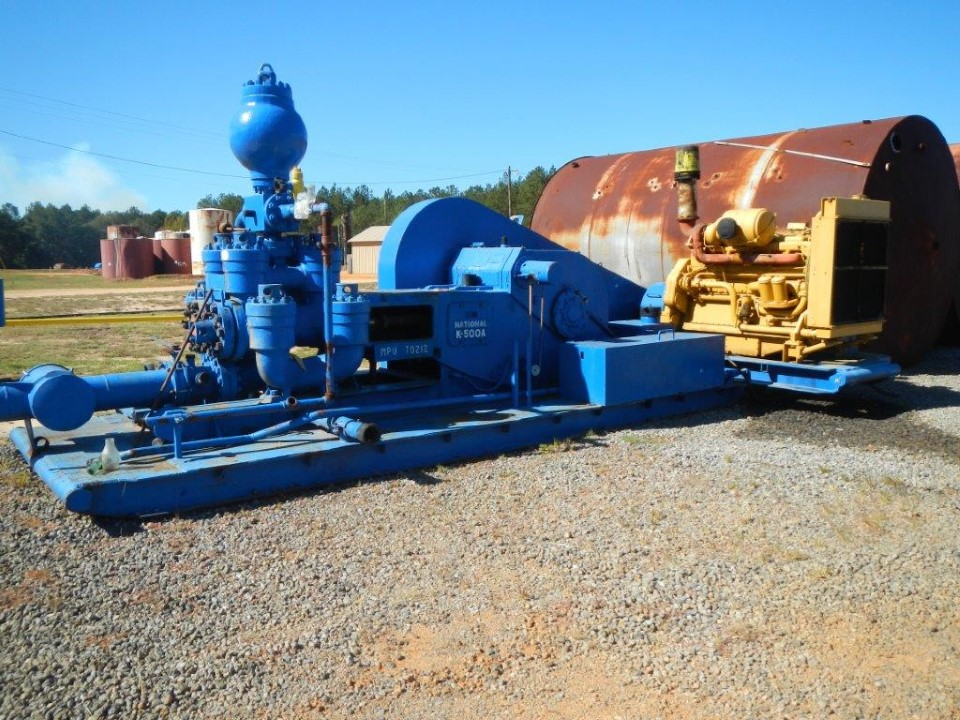 National K500-A Duplex Mud Pumps