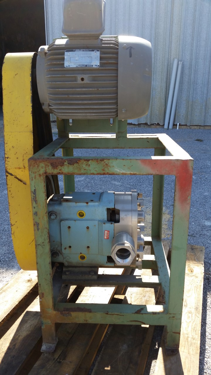 Waukesha Rotary Positive Displacement Pump Model 60